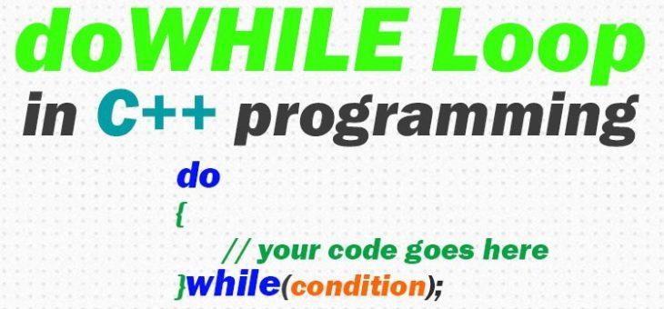 Цикли в С++. Цикл do…while