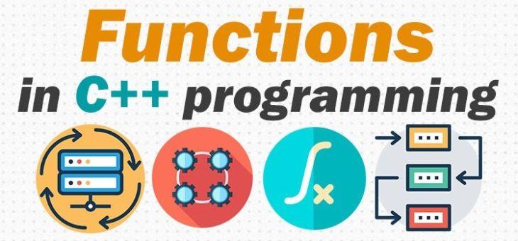 Функції в С++. Основні відомості.